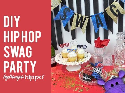 DIY Hip Hop SWAG Party   A Blog Hop With Marisa Pawelko And Sizzix   YouTube