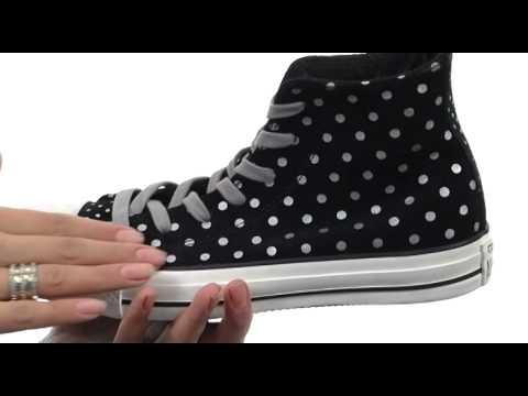 8fc7cb3bd4c5 Converse Chuck Taylor® All Star® Foil Polka Dots Hi SKU  8204981 ...