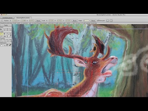 How to animate pastel drawings with Anime Studio Pro 11