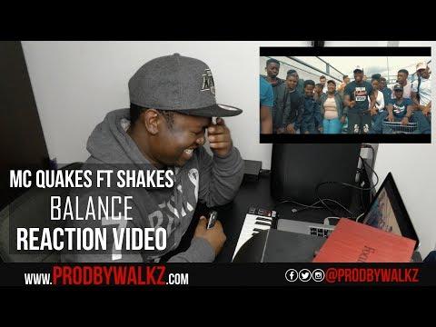 MC Quakez Ft Shakes - Balance (Music Video)   #SWIL   Reaction