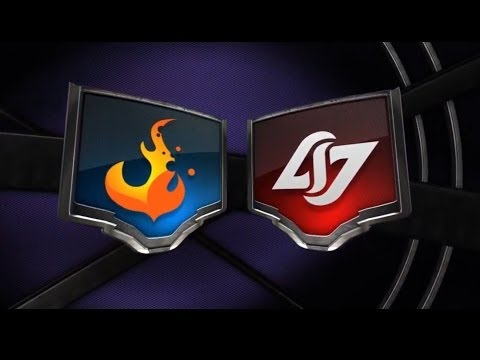 CRS vs CLG W1D1 NA LCS Summer Split 2014 CURSE vs COUNTER LOGIC GAMING W1 D1