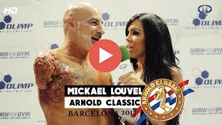 MICKAEL LOUVEL | ARNOLD CLASSIC 2017 | Marina Brass | CuerposperfectosTV