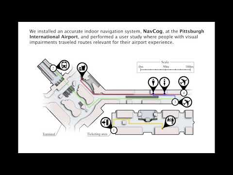 Airport Accessibility and Navigation Assistance for People