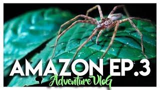 AMAZON JUNGLE ADVENTURE CHALLENGE VLOG - EP. 3