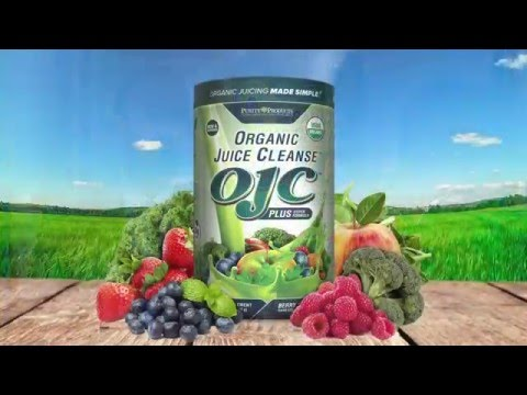 TALK SHOW INFOMERCIAL VIDEO PRODUCTION - OJC, the Organic Juice Cleanse by Purity Products