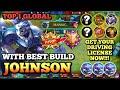 - JOHNSON BEST BUILD IN 2020  | TOP 1 GLOBAL JOHNSON | JOHNSON MOBILE LEGENDS