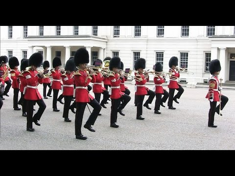 Band of the Grenadier Guards - Wellington Barracks - 12 June 2015