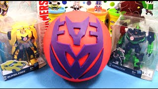 TRANSFORMERS Giant Play Doh Surprise DECEPTICON - Surprise Egg and Toy Collector SETC