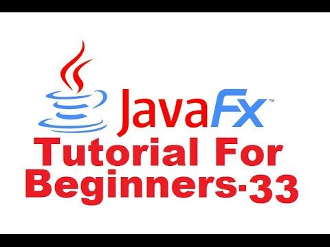 JavaFx Tutorial For Beginners 33 -  Adding Volume Slider to MediaPlayer