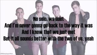 Big Time Rush - Featuring You (with lyrics)