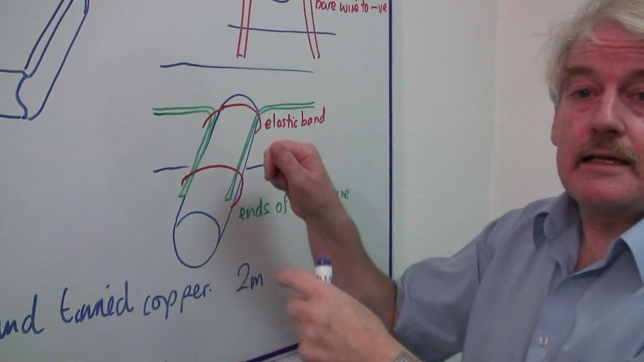 electric motor physics. Physics Help : How To Make An Electric Motor Using A 9V Battery