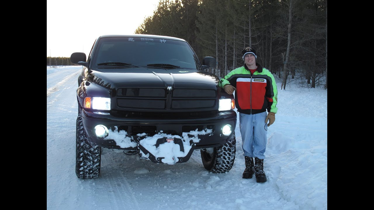 "Dodge Ram 5"" lift 35 s Pushed to the Limit"