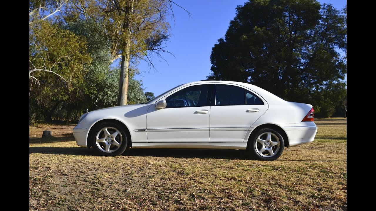 2003 mercedes benz c 200 elegance 2655 youtube for 2003 mercedes benz suv
