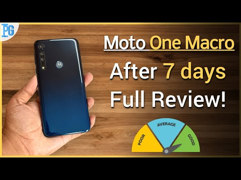 Moto One Macro : After 1 Week FULL REVIEW !