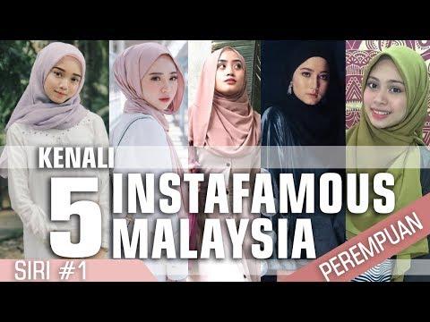 Kenali 5  Gadis Instafamous Malaysia | Siri 1