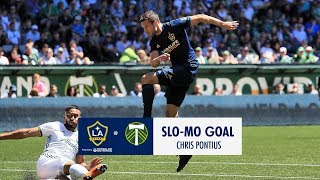 SLO-MO GOAL: Chris Pontius with the perfect placement in Portland