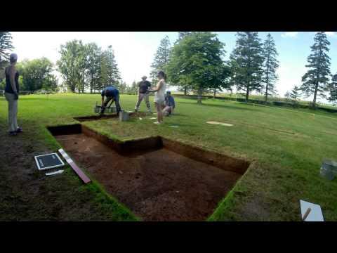 Acadian public archaeology @ Grand-Pre historic UNESCO