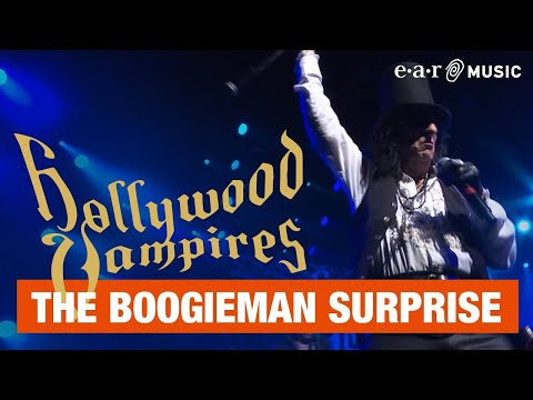 "Hollywood Vampires ""The Boogieman Surprise"" (Live) Official Video - Album Rise out June 21st Mp3"