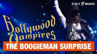"""Hollywood Vampires """"The Boogieman Surprise"""" (Live) Official Video - Album Rise out June 21st"""