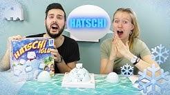 HATSCHI IGLU! KLEINER EISBÄR IST KRANK! Kaan vs Kathi! Spiel mit mir Kinderspielzeug