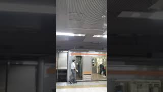 JR東京駅京葉地下ホーム3番線発車メロディー(ATOS化後・途中切り・スマホで撮影)