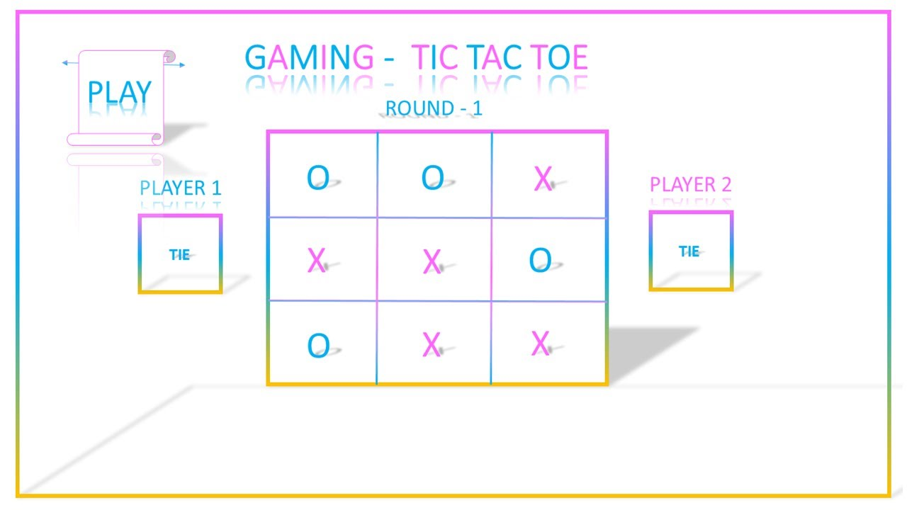 Tic Tac Toe powerpoint Game TICTACTOE in power point How to design game  TICTACTOE in power point? Inside Tic Tac Toe Template Word