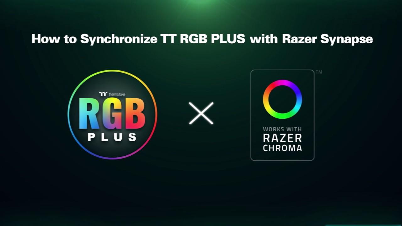 How to Synchronize TT RGB PLUS with Razer Synapse