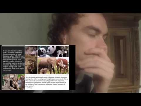"it is time to Listen.' Human Society."" Environmental laws animal rights Philosophy vlog"