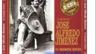 La Mano de Dios - José Alfredo Jiménez - Karaoke