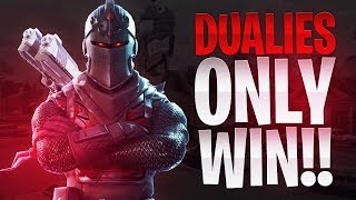 DUAL PISTOLS ONLY WIN! - Fortnite Battle Royale