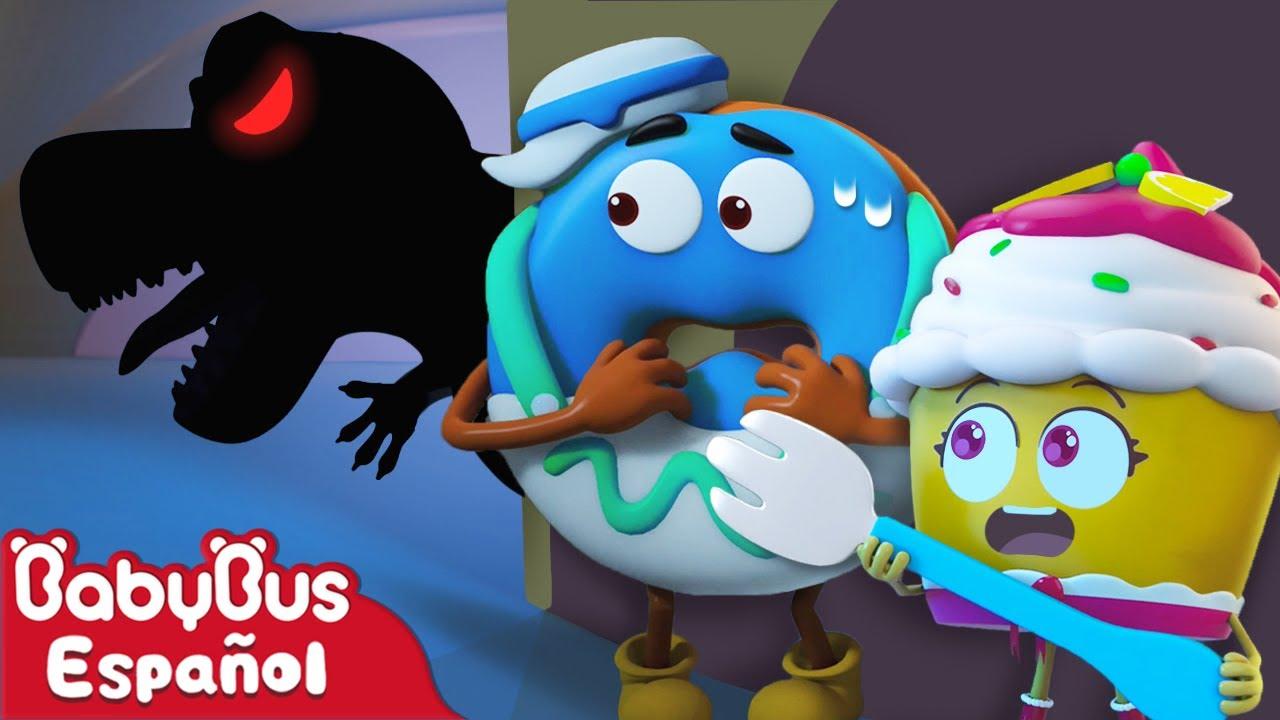 Hay Un Monstruo Grande   [NUEVO] Animación de Comidas Ep.4   Dibujos Animados   BabyBus Español