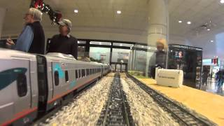 gcmra tri county mall show 2015 acela chase cab ride looking forwards
