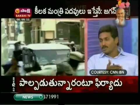 YS Jagan interview to CNN IBN Part - 1.