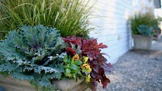 Fall Container Inspiration // Garden Answer