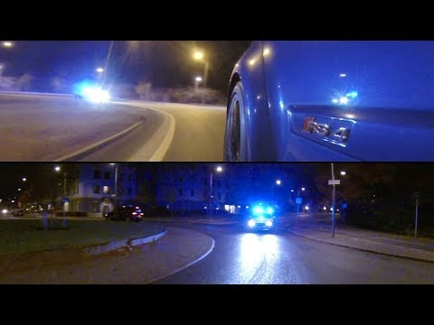 HIGHWAY 3 (Part 8) Yet again - the RS4 in another police chase! [HD]