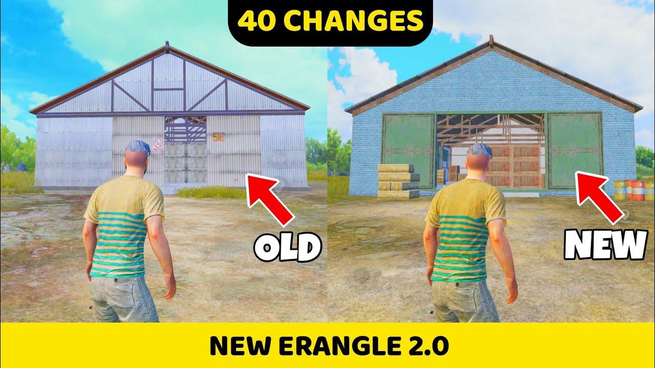 40 BIG CHANGES IN NEW ERANGLE 2.0 | PUBG MOBILE 1.0 UPDATE