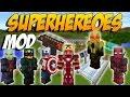 EL MEJOR MOD DE SUPERHEROES: Fisk's Superheroes - Minecraft Mod 1.7.10