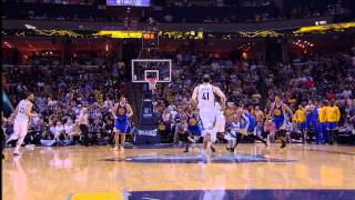 Stephen Curry Sinks Buzzer-Beater from 3/4-Court!!