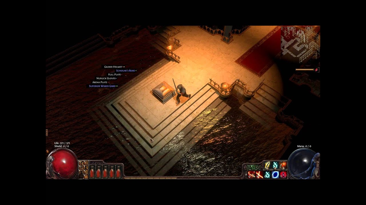 Path Of Exile  Handed Build