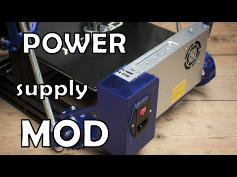 Ender 3 Pro Power Supply Mod And Some Safety Tips