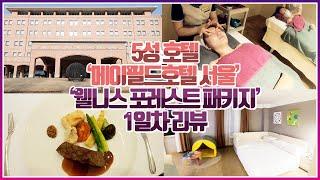 서울 호캉스 5성 호텔 메이필드호텔 '웰니스 패…