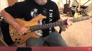 Electric Light Orchestra (ELO) - Evil Woman - Bass Cover