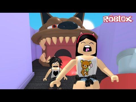 Roblox - ENGOLIDAS PELO CACHORRO GIGANTE (Escape the Pet Store Obby) | Luluca Games