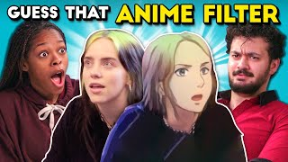 Can YOU Guess Celebrities With the Anime Filter?