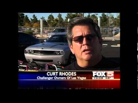 Challenger Owners Of Las Vegas 2012 Toy Drive