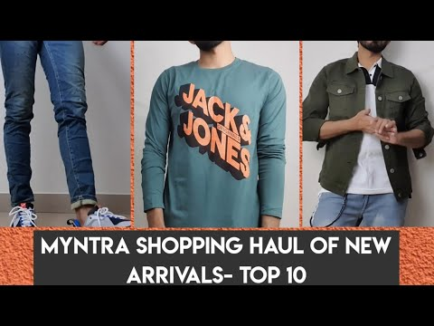 Myntra Men Try On Haul 2020| Indian Men Shopping And Try On Haul
