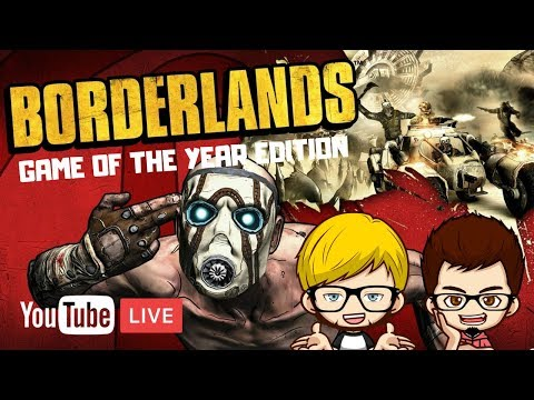 Borderlands Remaster: Who Doesn't Love Psychos - Bad Day Gaming Live