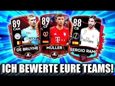 ICH BEWERTE EURE TEAMS !! 😱🔥 FIFA MOBILE 20