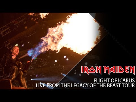Iron Maiden - Flight Of Icarus (Live From The Legacy Of The Beast Tour)