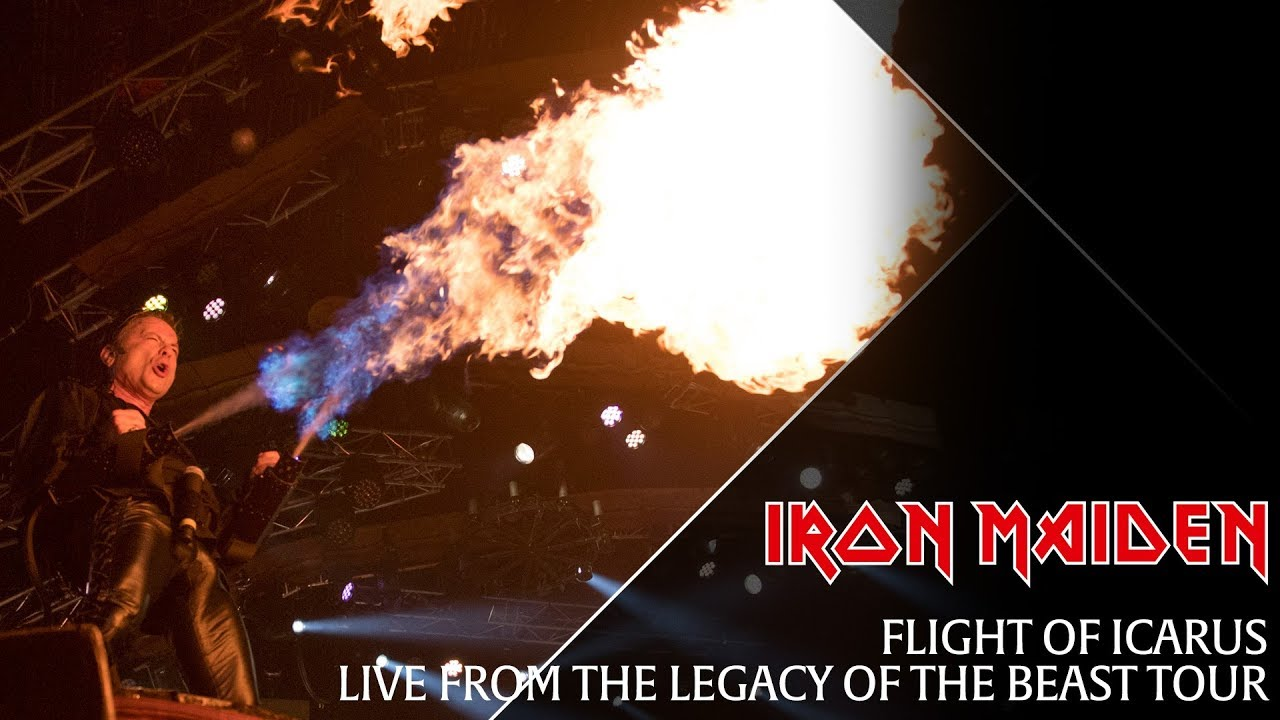 Iron Maiden Flight Of Icarus Live From The Legacy Of The Beast Tour Youtube